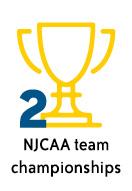 2 NJCAA team championships