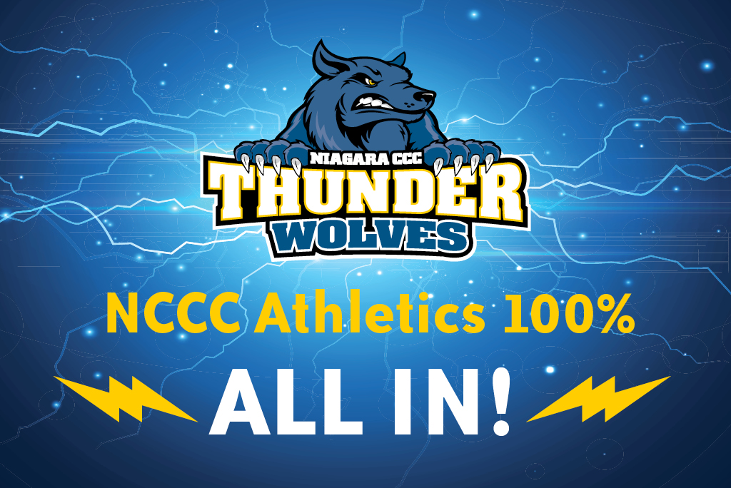 NCCC Athletics 100% ALL IN!