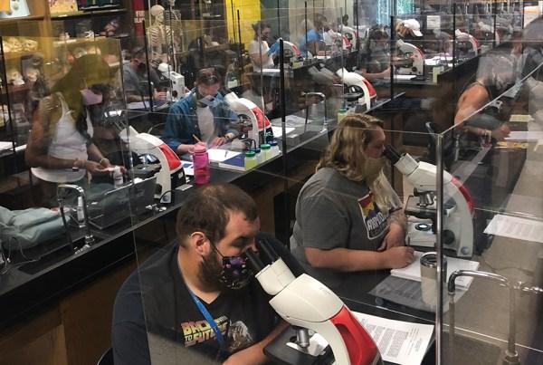 NCCC's science lab (C-208)