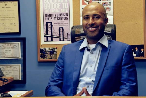 John Strong, Chief Diversity and Equity Officer