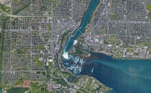 Niagara Falls Location Map