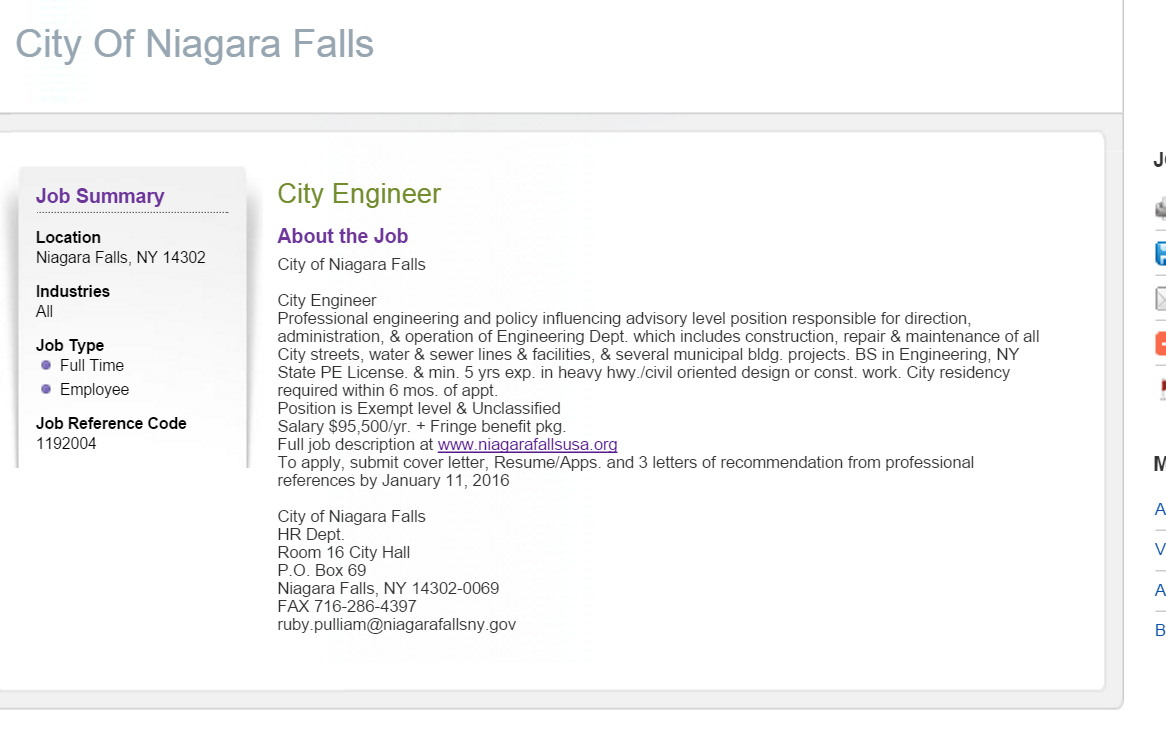 want ad for engineer