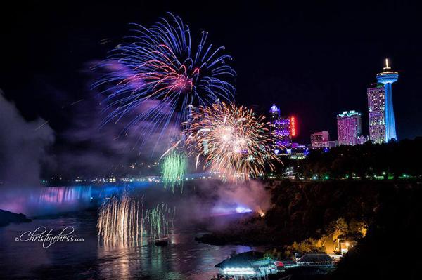 Niagara Falls Night Wallpaper Photos Fireworks Over The Falls Begins This Sunday May 1st