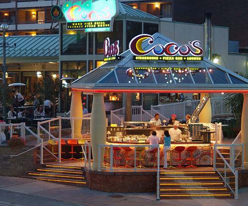 Cocos Terrace Steak House  Restaurants  Dining