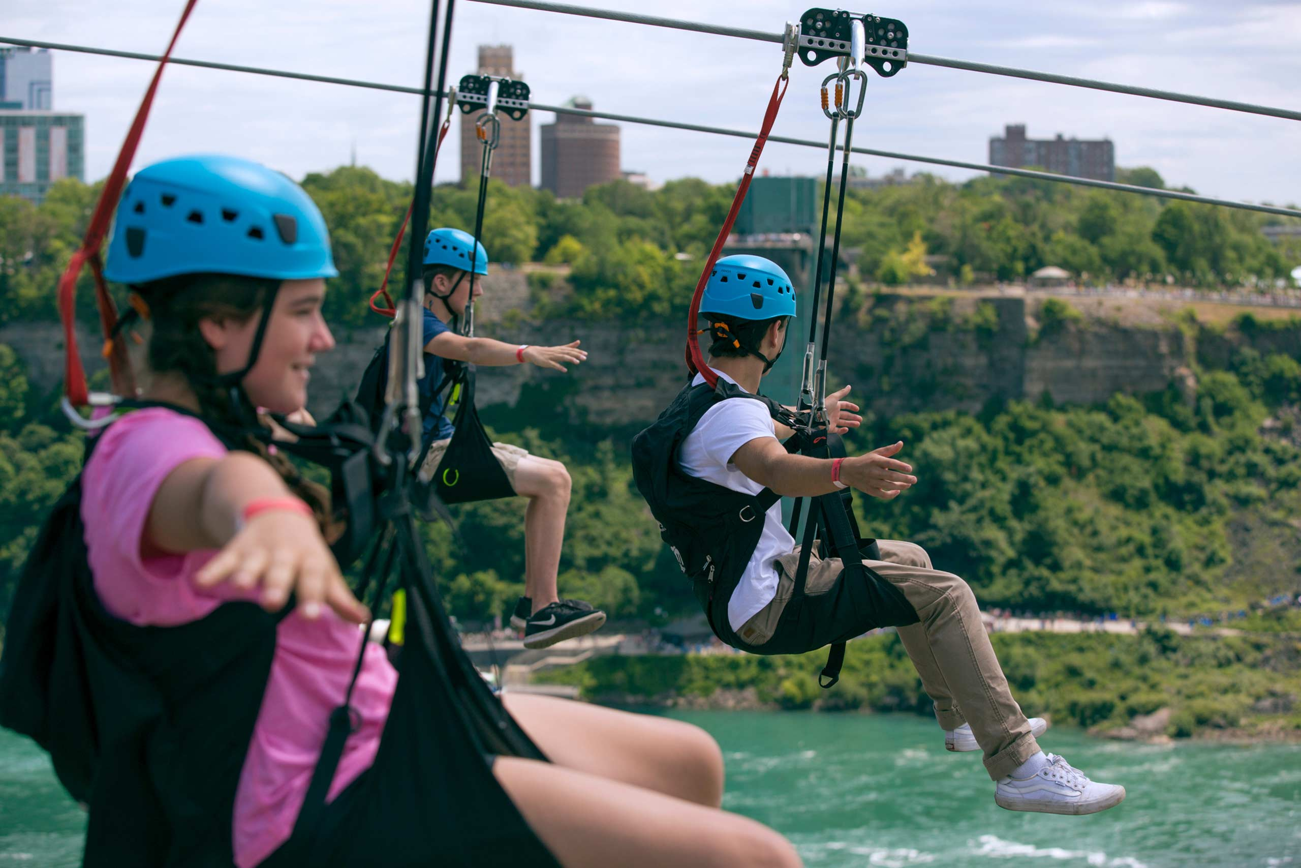 wheelchair zip wire shelby williams chairs zipline niagara falls ontario canada wildplay mistrider