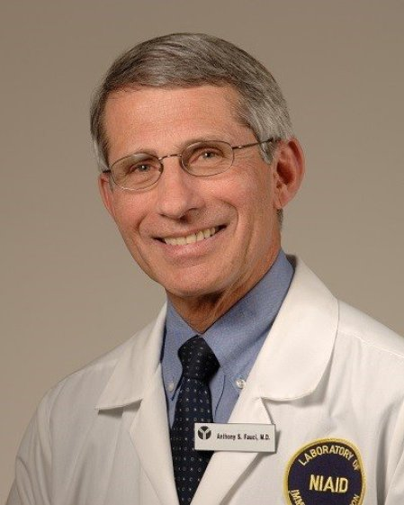 Anthony S. Fauci, M.D.   NIH: National Institute of Allergy and Infectious Diseases