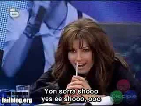 , I'm going to sing Mariah Carey's 'Ken Lee'…