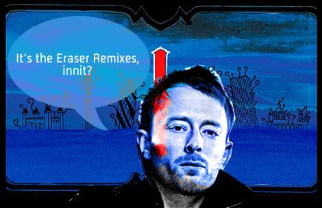 , Thom Yorke <em></noscript>Eraser</em> remixes available now