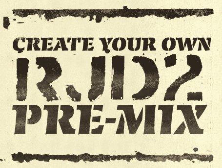 , RJD2 Pre-mix