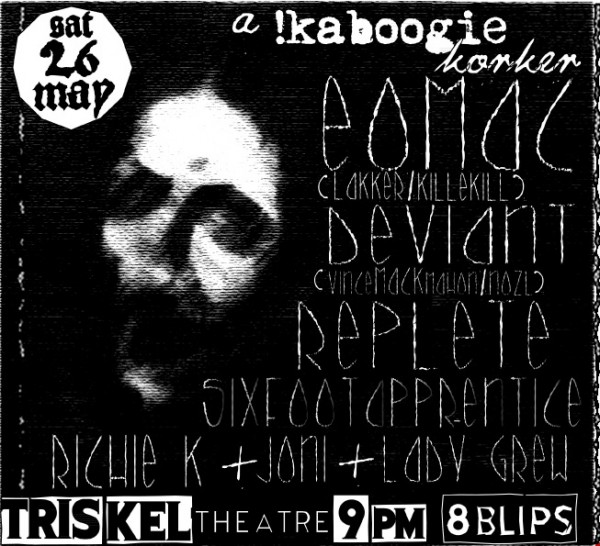 , A !Kaboogie Korker for Cork this weekend