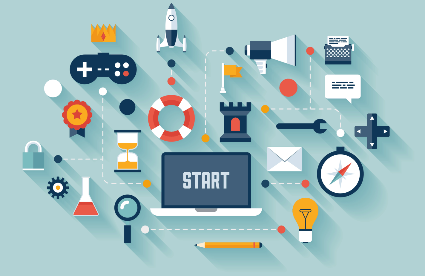 5 elements of a gamified approach to use in education