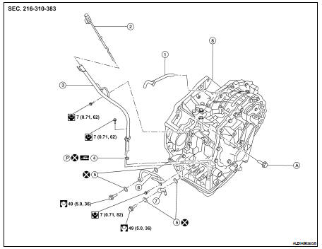 2005 Nissan Altima Transmission Diagram. Nissan. Auto
