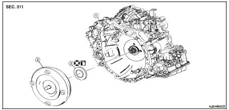 Cvt Transmission Exploded View CVT Transmission Diagram
