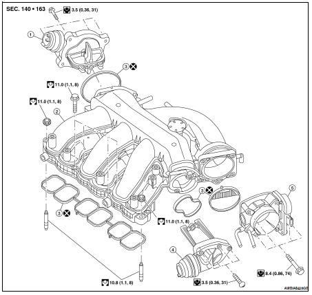 Nissan Altima Intake Manifold Gasket