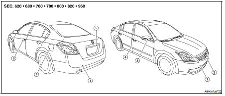 Nissan Altima 2007-2012 Service Manual: Features of new