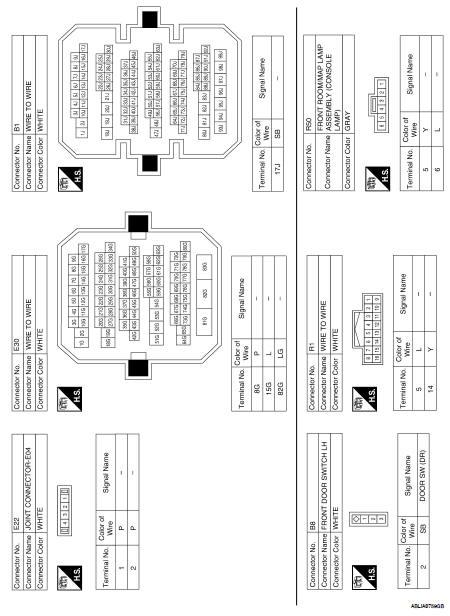 Nissan Altima 2007-2012 Service Manual: Function diagnosis
