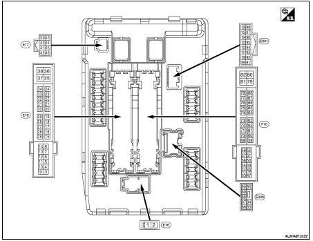 Nissan Altima 2007-2012 Service Manual: IPDM E/R