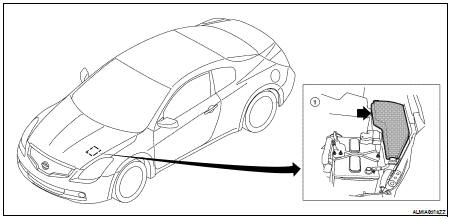 Nissan Altima 2007-2012 Service Manual: Relay control