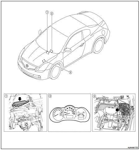 Nissan Altima 2007-2012 Service Manual: Power consumption
