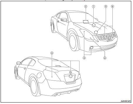 Nissan Altima 2007-2012 Service Manual: Diagnosis system