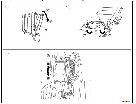 Nissan Altima 2007-2012 Service Manual: Electrical units