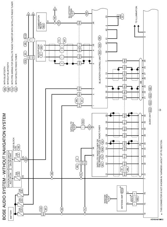 Nissan Altima 2007-2012 Service Manual: Audio unit (coupe