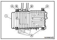 Nissan Altima 2007-2012 Service Manual: Bose speaker AMP