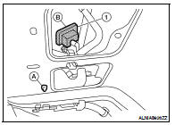 Nissan Altima 2007-2012 Service Manual: Rear view camera