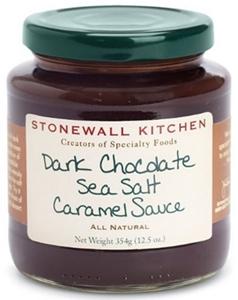stonewall kitchen dark chocolate sea salt caramel sauce giagni fresco stainless steel 1 handle pull down faucet simple 4 ingredient apple sundae