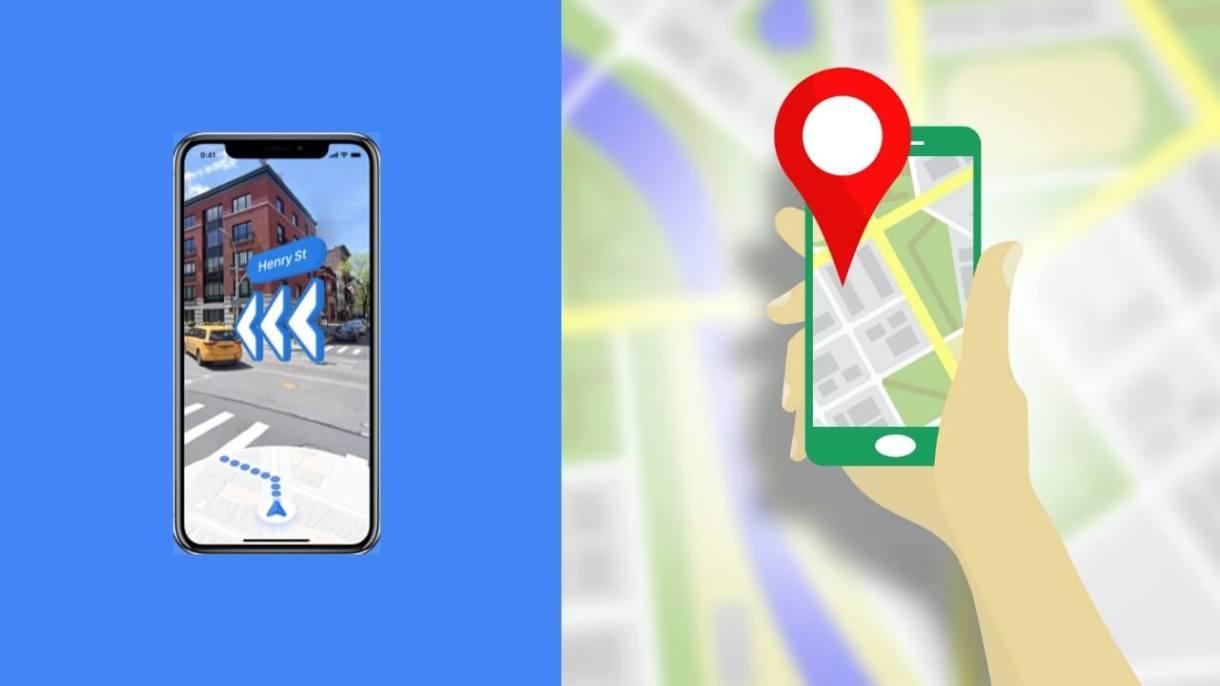 App realtà aumentata iPhone - Google Maps