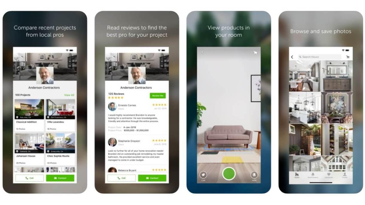 App realtà aumentata iPhone - Houzz