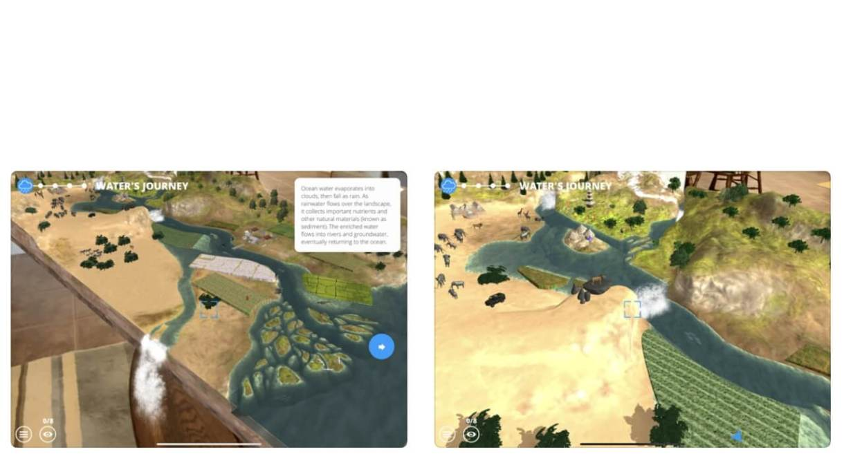 App realtà aumentata iPhone - WWF Free Rivers