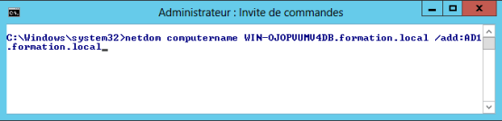 Rename Domain Controller - Add new name