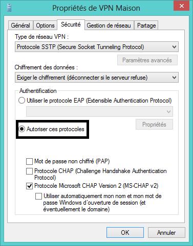 Configure VPN for fix error 850