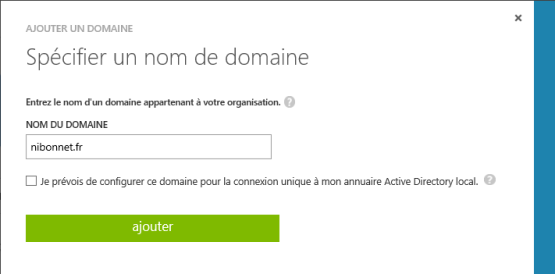 Enroll Windows 10 on Azure AD Specify domain name