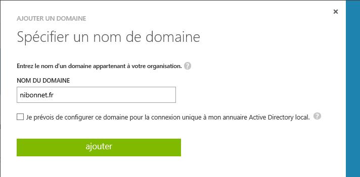 Enroll Windows 10 on Azure AD Specify domain name