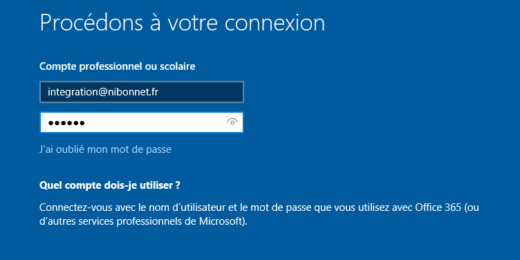 Configure OOBE Screen