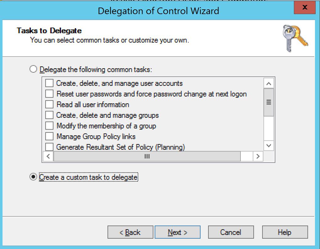Create custom Task