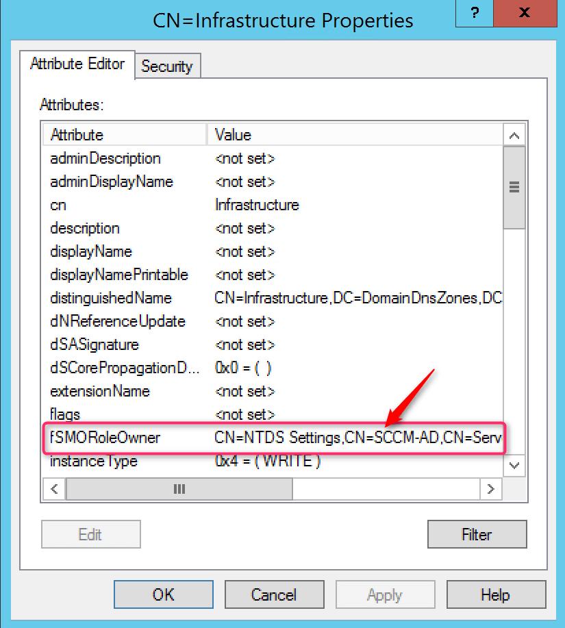 Problem Active Directory verify attributes