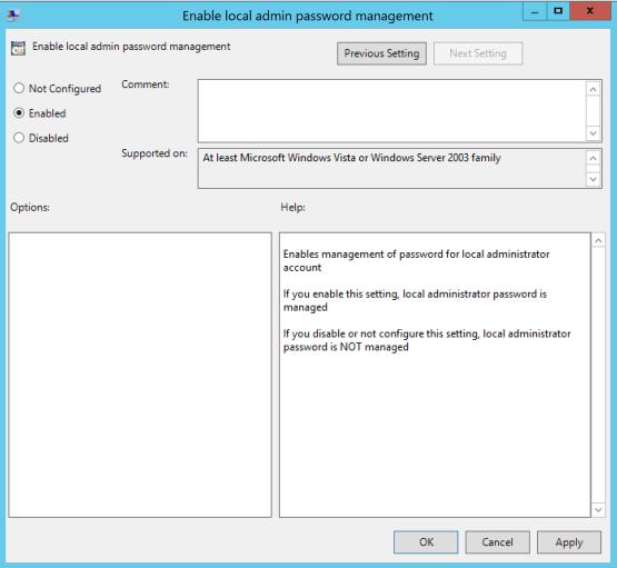 Manage local Account - Configure GPO