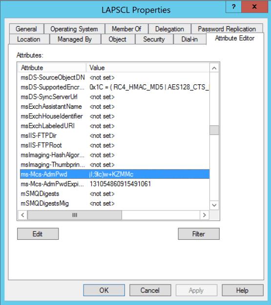 LDAP Attributes