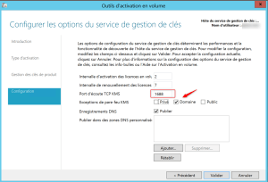 Configure KMS Server