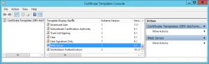 Configure Cloud Management Gateway Create Template certificate