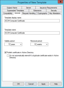 Configure Cloud Management Gateway New template
