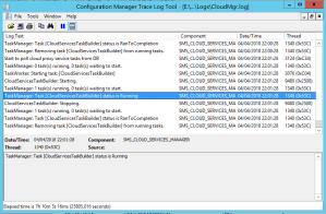 View log Configure Cloud Management Gateway