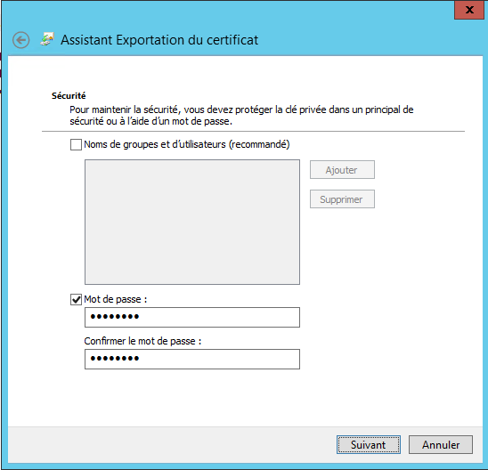 Enter password for private key
