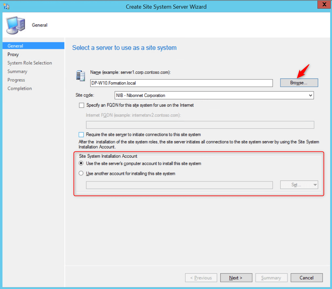 SCCM PXE without WDS Configure Distribution point configuration