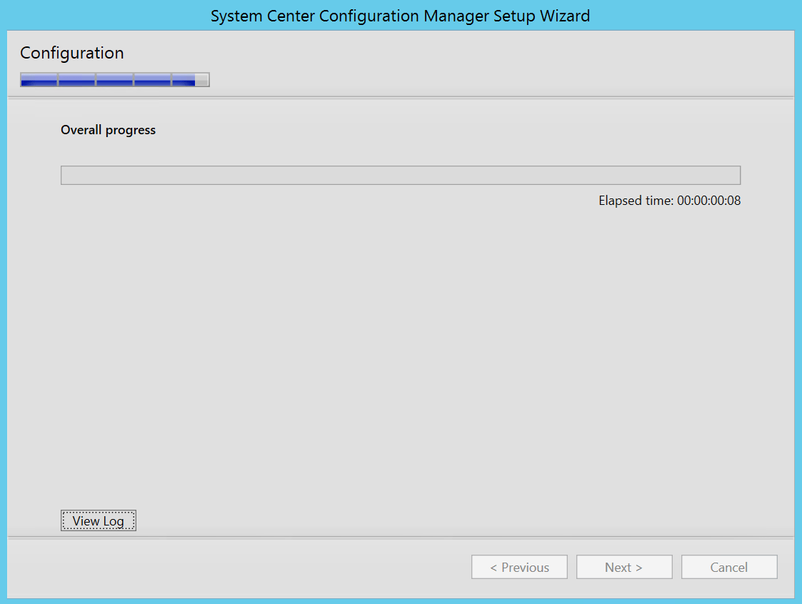 Configuration begin....