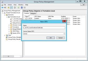 Configure Cloud Management Gateway Create group policy