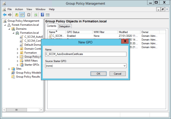 Configure CMG Create group policy